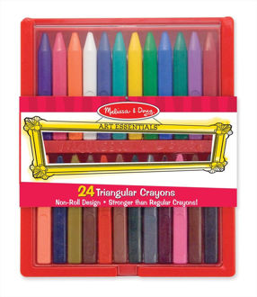 Picture of Triangular Crayons 24pc