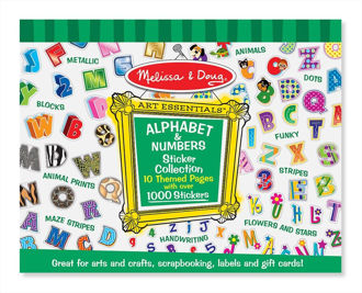 Picture of Sticker Collection - Alphabet & Numbers
