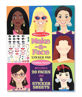 Picture of Make a Face fashion faces sticker pad