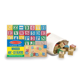 Picture of Wooden ABC/123 Blocks