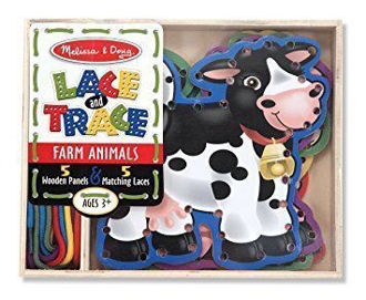 Picture of Lace and Trace - Farm Animals