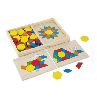 Picture of Pattern Blocks and Boards