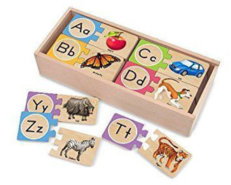 Picture of Self-Correcting A-Z Letter Puzzles
