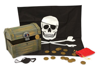 Picture of Wooden Pirate Chest