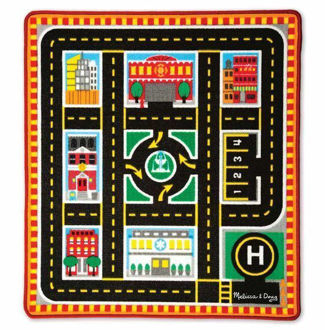 Picture of Round The City Rescue Rug