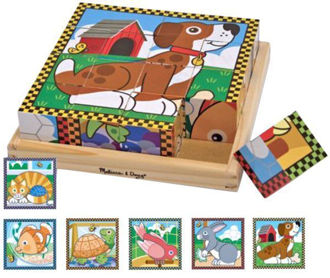 Picture of Pets cube puzzle