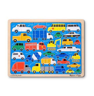 Picture of Beep Beep Wooden Jigsaw Puzzle - 24 Pieces