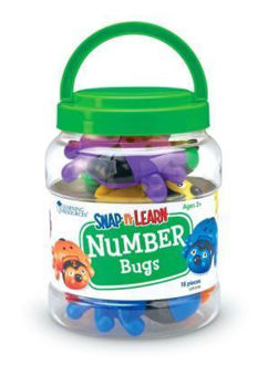 Picture of Learning Resources Snap-N-Learn™ Number Bugs