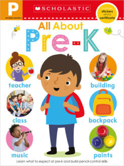Picture of Get Ready for Pre-K Skills Workbook: All About Pre-K