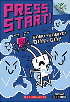 Picture of Robo-Rabbit Boy, Go!: A Branches Book (Press Start! #7)