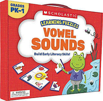 Picture of Learning Puzzles: Vowel Sounds