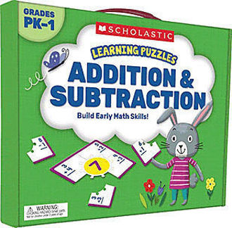 Picture of Learning Puzzles: Addition & Subtraction