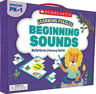 Picture of Learning Puzzles: Beginning Sounds