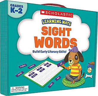 Picture of Learning Mats: SIGHT WORDS