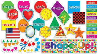Picture of Shape Up! Mini Bulletin Board