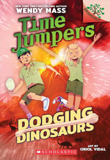Picture of Dodging Dinosaurs  Time Jumper