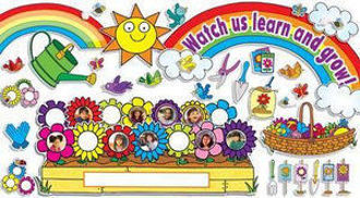 Picture of Our Class in Bloom Bulletin Board