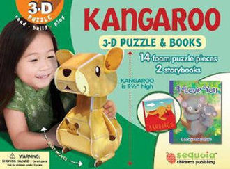 Picture of Kangaroo 3-D Puzzle & 2-Book Set