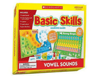 Picture of Vowel Sounds Basic Skills Learning Games