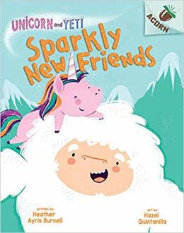 Unicorn and Yeti Sparkly New Friends