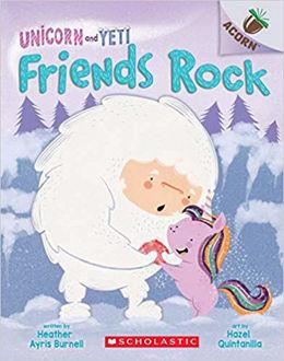Unicorn and Yeti Friends Rock