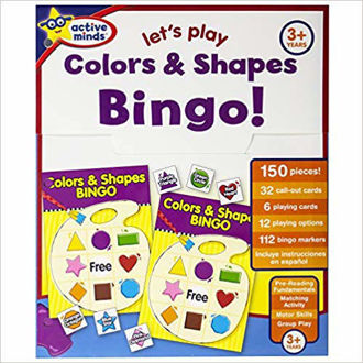 Picture of Active Minds Activity Folder - Let's Play Colors & Shapes Bingo
