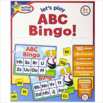 Picture of See all 4 images Active Minds Activity Folder - Let's Play ABC Bingo