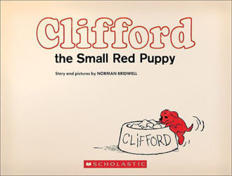 Picture of Clifford the Small Red Puppy (Vintage Hardcover Edition)