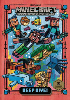 Picture of Deep Dive! (Minecraft Woodsword Chronicles #3) (Hardcover)