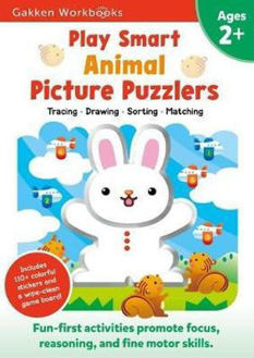 Picture of PLAY SMART ANIMAL PICTURE PUZZLERS 2+