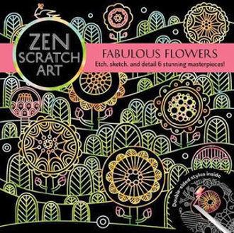 Picture of ZEN SCRATCH ART: FABULOUS FLOWERS