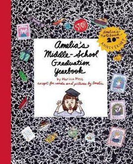 Picture of Amelia's Middle school graduation year book