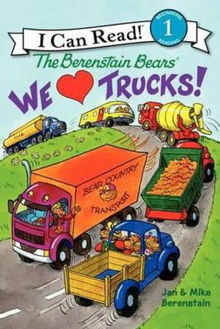 Picture of We Love Trucks! I Can Read. Level 1