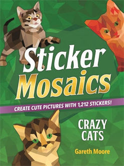 Picture of Sticker Mosaics: Crazy Cats