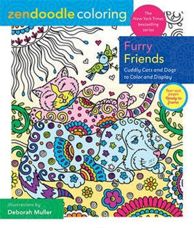 Picture of Zendoodle Coloring: Furry Friends