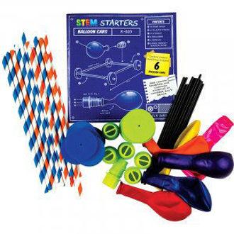 Stem Starters - Balloon Cars