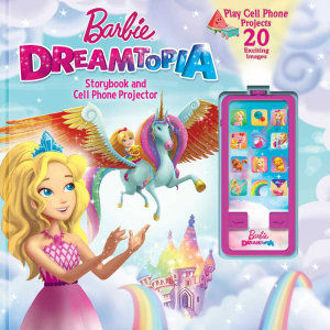 Picture of Barbie Dreamtopia Storybook and Cell Phone Projector