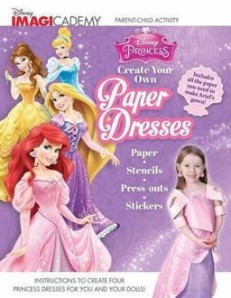 Picture of Disney Imagicademy Disney Princess: Create Your Own Paper Dresses