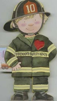 Picture of Fireman's Safety Hints Little People Shape Books