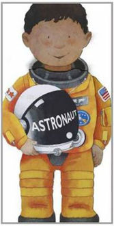Picture of Astronaut Little People Shape Books