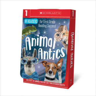 Picture of Scholastic Early Learners: Animal Antics Grade 1 E-J Reader Box Set