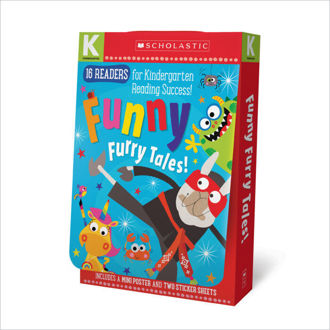 Picture of Scholastic Early Learners: Funny Furry Tales Kindergarten A-D Reader Box Set