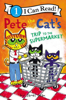 Picture of Pete the Cat's Trip to the Supermarket I Can Read Level 1