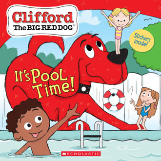 Picture of CLIFFORD: IT'S POOL TIME!