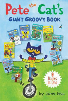Picture of Pete the Cat's Giant Groovy Book 9 I Can Reads in 1 Book