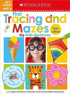 Picture of Get Ready for Pre-K Big Skills Workbook: First Tracing and Mazes