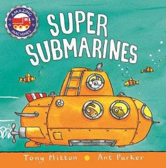 Picture of Super Submarines Amazing Machines