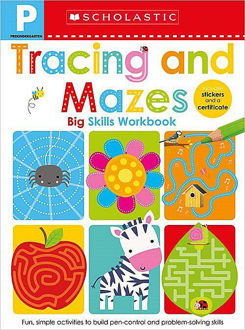 Picture of Pre-K Big Skills Workbook: Tracing and Mazes