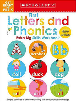 Picture of Get Ready for Pre-K Extra Big Skills Workbook: First Letters and Phonics