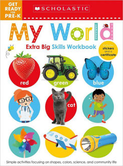 Picture of Get Ready for Pre-K Extra Big Skills Workbook: My World